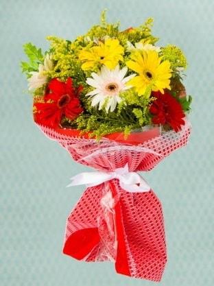 Karışık Gelbera Buketi  Bartın çiçek siparişi sitesi