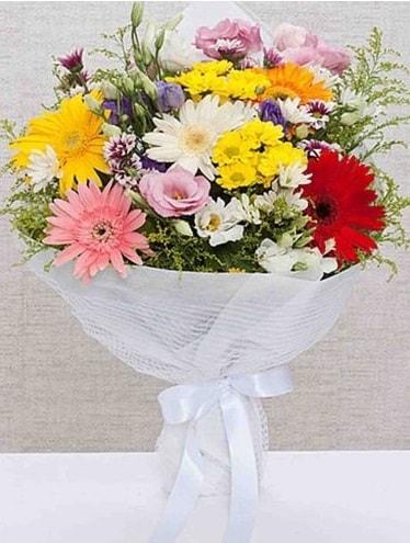 Karışık Mevsim Buketleri  Bartın ucuz çiçek gönder