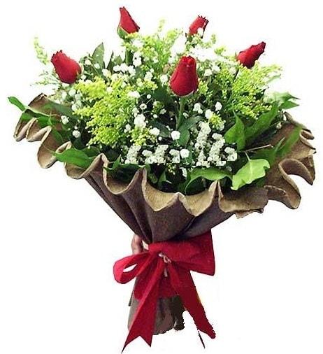 5 adet gülden buket  Bartın çiçek gönderme sitemiz güvenlidir