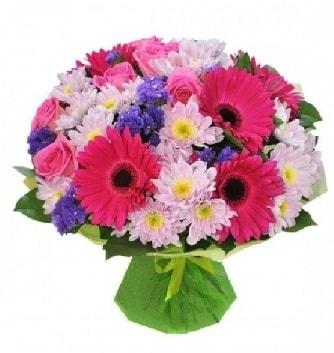 Karışık mevsim buketi mevsimsel buket  Bartın çiçek satışı